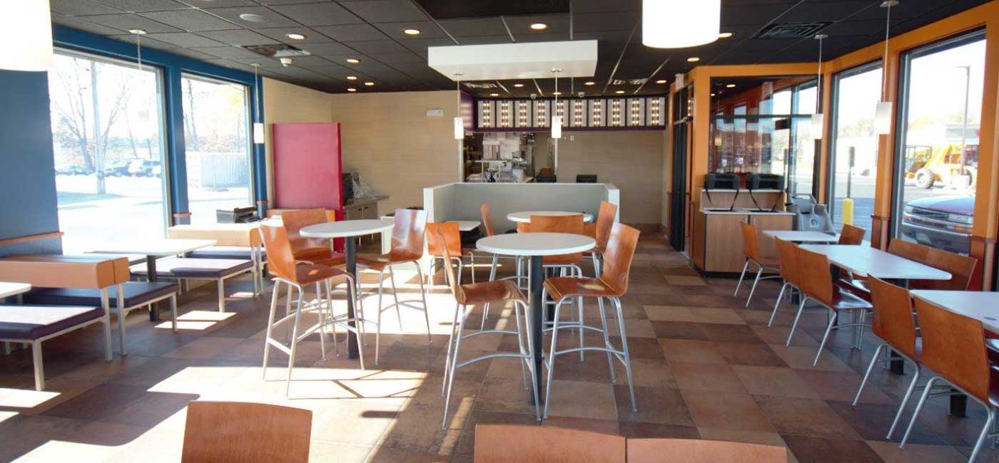 Taco Bell Johnstown inside